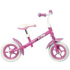 Bicicleta fara Pedale Minnie Mouse 10 inch - Bicicleta copii Toimsa
