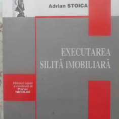 Executarea Silita Imobiliara - Adrian Stoica, 415697 - Carte Drept penal
