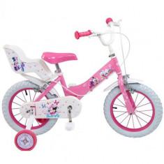 Bicicleta Mickey Mouse Club House 14 inch Roz - Bicicleta copii Toimsa