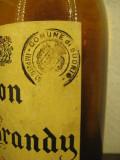 RARE brandy vecchia romagna, BUTON BRANDY, CL 75 GR 40 ANI 1950/56