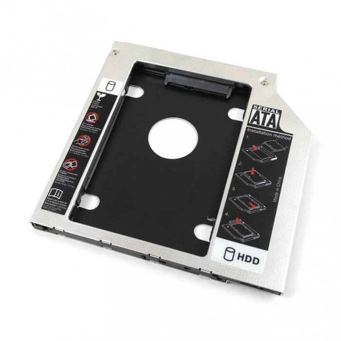 Hdd caddy adaptor unitate optica la hard disk Asus K50IJ SX