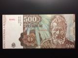 500 Lei Ianuarie 1991 Romania UNC, mai RARA!