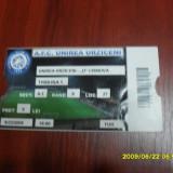 Bilet       Unirea  Urziceni   -  U  Craiova
