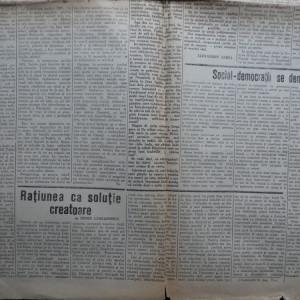 Ziarul Veac Nou , politic , muncitoresc , social , an 1 , numarul 1 , 1932