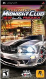 Midnight Club - LA Remix - PSP [Second hand], Curse auto-moto, 12+, Single player, Rockstar Games