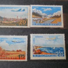 1956/2015  LP 424 POSTA AERIANA, Nestampilat