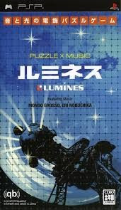 Lumines Puzzle X Music - PSP [Second hand] JP foto