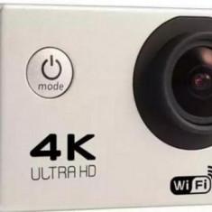 Camera Video sport iUni Dare 85i, Wi-Fi, Ultra HD, Carcasa rezistenta la apa (Argintiu)