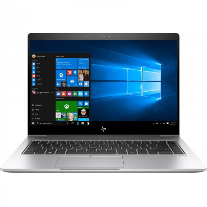 Laptop HP Elitebook 840 G5 14 inch FHD Intel Core i5-8350U 8GB DDR4 256GB SSD Windos 10 Pro foto mare