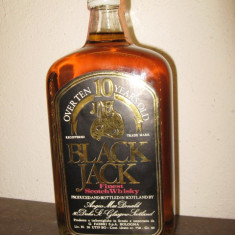 N 19 BLACK JACK, OVER 10 YEARS, FINEST SCHOTCH WHISKY CC 750 GR 40 ANI 50/60