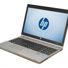 Laptop HP EliteBook 8570p, Intel Core i5 Gen 3 3320M 2.6 GHz, 4 GB DDR3, 265 GB SSD NOU, DVD-ROM, WI-FI, WebCam, Tastatura QWERTY UK RF, Display