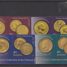 Romania ,colectii monede aur cu Taps ,Nr lista 1989. an 2005., Nestampilat