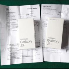 Samsung Galaxy j3 alb - Telefon Samsung, Neblocat, Dual SIM