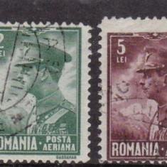 ROMANIA 1930 LP 87 CAROL II P. A. SERIE STAMPILATA - Timbre Romania