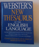 Webster's New Thesaurus of the English Language