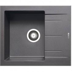 Chiuveta de bucatarie Pyramis Granit ALAZIA Iron Grey 590mm x 500mm