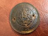 Sigla / insigna / emblema veche masina de cusut model deosebit !