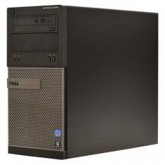 Calculator Dell Optiplex 3010 Tower, Intel Core i5 Gen 3 3470 3.2 GHz, 4 GB DDR3, 1 TB HDD SATA NOU, DVD, Placa Video nVidia Geforce GT1030 2 GB - Sisteme desktop fara monitor