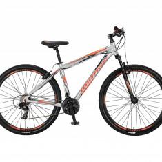 "Bicicleta MTB Umit Mirage Cadru 20"" , 21 Viteze , Culoare Gri/Portocaliu Roata 2PB Cod:2965020000"