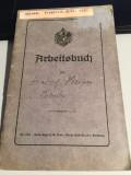CARTE DE MUNCA ARBEITSBUCH 1919-1941, Europa, Documente