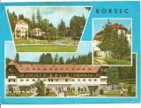 (A) carte postala(marca fixa)-BORSEC, Circulata, Printata