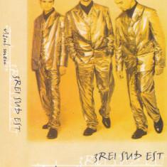 Caseta audio: 3rei Sud Est - Visul meu ( 1999 - originala, stare foarte buna )