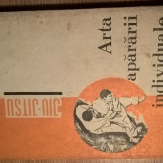 Arta apararii individuale (jiu-jitsu) - Florian Frazzei (Editura Militara, 1970)