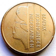 Olanda Beatrix (1980-2001) 5 Gulden 1988, 24mm., 9, 32g, Royal Dutch Mint, Europa, Bronz