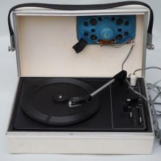PICK-UP PORTABIL CEHOSLOVAC - TESLA LITOVEL GZ 073 - GRAMOFON VECHI - ANII 1980 - Pickup audio Tesla, 121-160 W