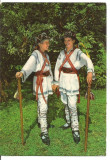 (A) carte postala(1368/8)-KRUGER-Calusari-dansatori din Oltenia, Circulata, Printata