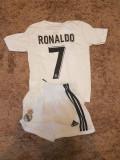 SET ECHIPAMENT RONALDO REAL MADRID SEZON 2018-2019 4-15ANI, S, XS, XXL, Set echipament fotbal