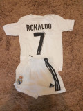 SET ECHIPAMENT RONALDO REAL MADRID SEZON 2018-2019 4-15ANI, XL, XXL, Set echipament fotbal