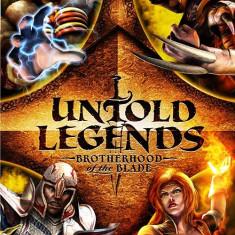 Untold Legends - Brotherhood of the blade - PSP [Second hand], Actiune, 12+, Single player