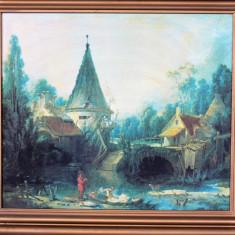 Tablou din URSS - Francois Boucher - Peisaj langa Beauvais