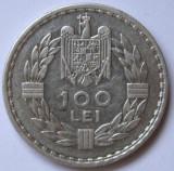 100 LEI 1932 LONDRA ., Argint