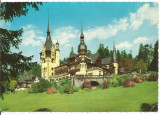 (A) carte postala(1143/1)-KRUGER-Sinaia-Castelul Peles, Circulata, Printata