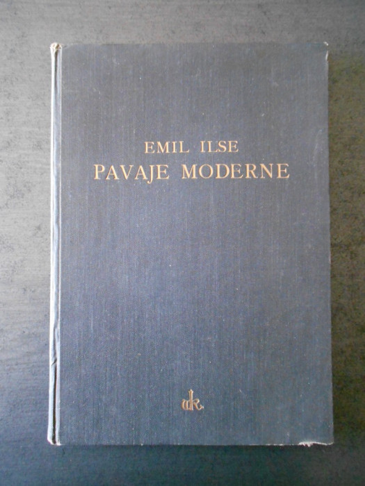 EMIL JLSE - PAVAJE MODERNE (1931)