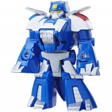Figurina Transformers Rescue Bots Chase The Dino Protector, Hasbro