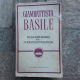 Pentameronul sau Povestea povestilor Giambattista Basile