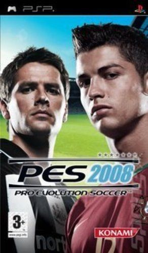 Pro Evolution Soccer 2008 PES -  PSP [Second hand] foto mare