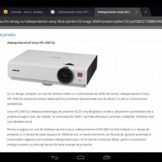 Videoproiector Sony VPL-DW122