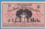(2) NOTGELD GERMANIA - STADT BAD OLDESLOE - 50 PFENNIG