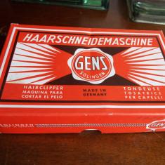 Masina de tuns mecanica vintage Solingen Gens - Aparat de Tuns