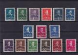 ROMANIA 1940/42  LP 153  UZUALE MIHAI  I  (FILIGRAN CC) SERIE  MNH, Nestampilat