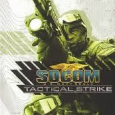 Socom US Navy Seals - Tactical Strike - PSP [Second hand], Shooting, 12+, Single player