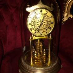 Antic ceas de colecție de birou mecanic marca Kundo