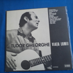 VINIL FOLK TUDOR GHEORGHE/VIATA LUMII - Muzica Folk electrecord
