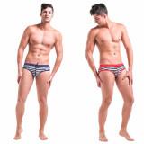 Slipi barbati model Sailor - marimea XXL, Rosu