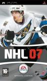 NHL 07 - PSP  [Second hand], Sporturi, 3+, Single player
