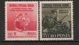 Romania 1950 - LUPTA PENTRU PACE, serie nestampilata M62, Nestampilat